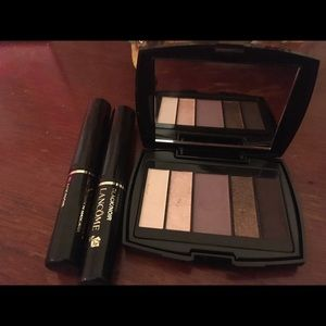 Lancôme eye shadow & two Mascara